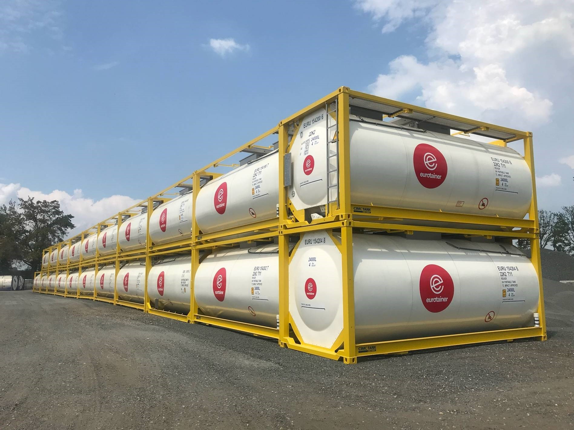 Tank Containers for Storage of Liquid and Gas Products