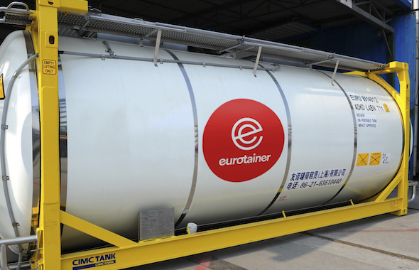 Eurotainer manages a global fleet of 39000+ tank containers