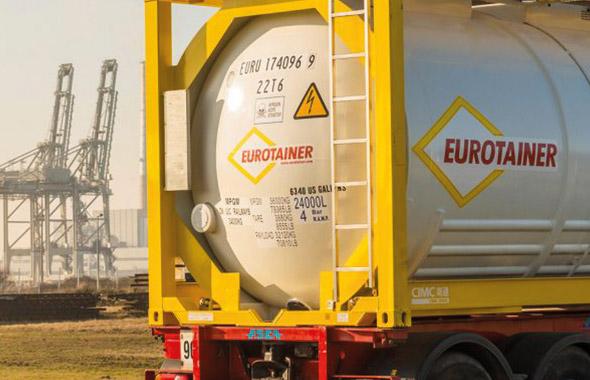 Eurotainer handelt seit 1970 weltweit