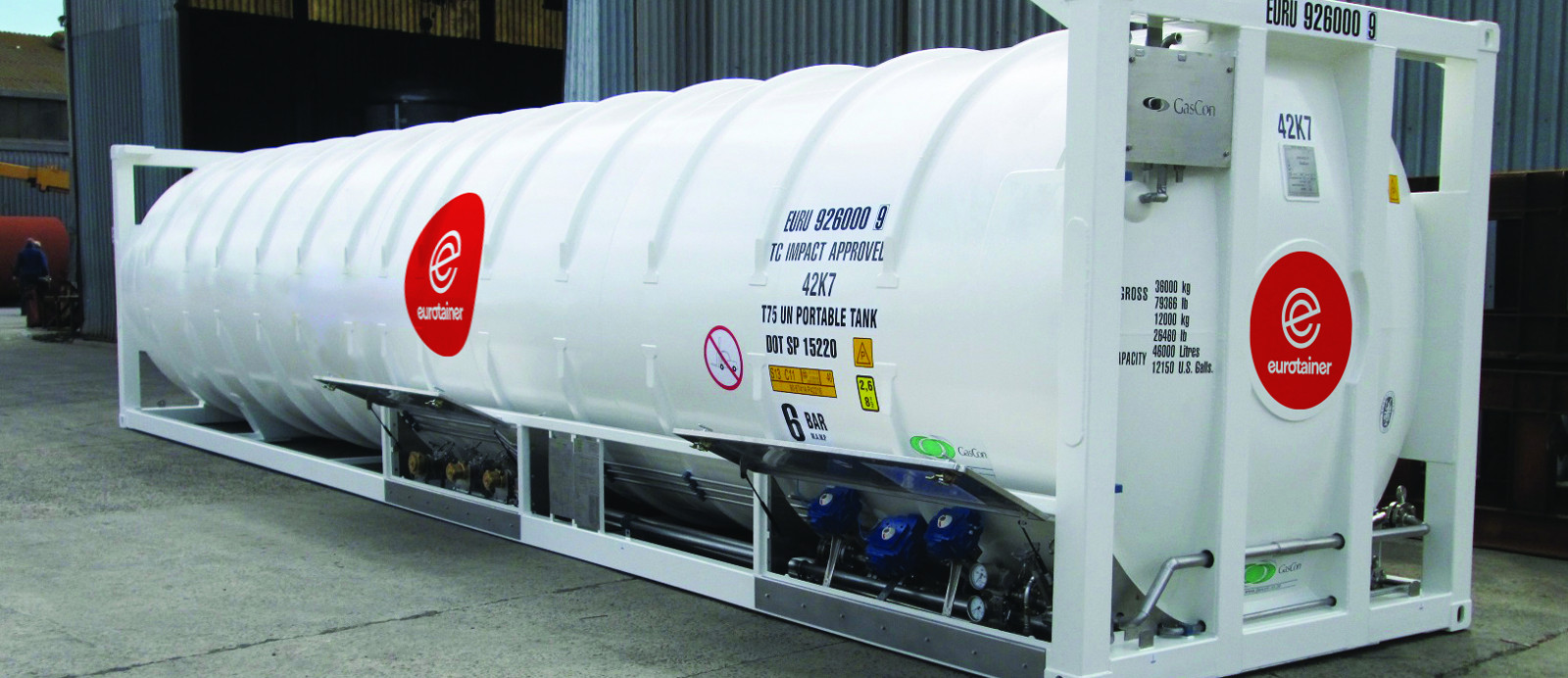 The #1 Tank in Container Leasing