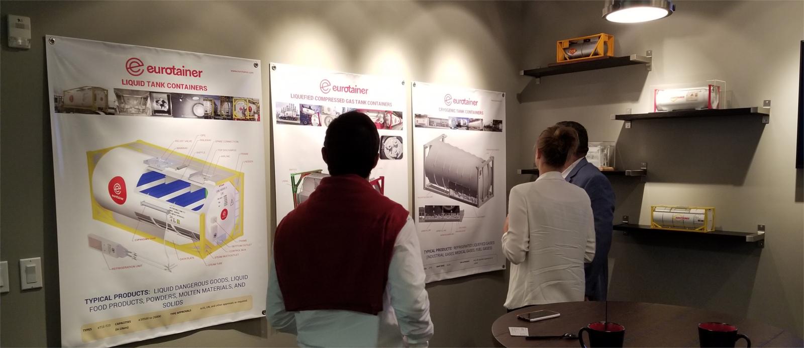 Eurotainer Houston creates Showcase Room