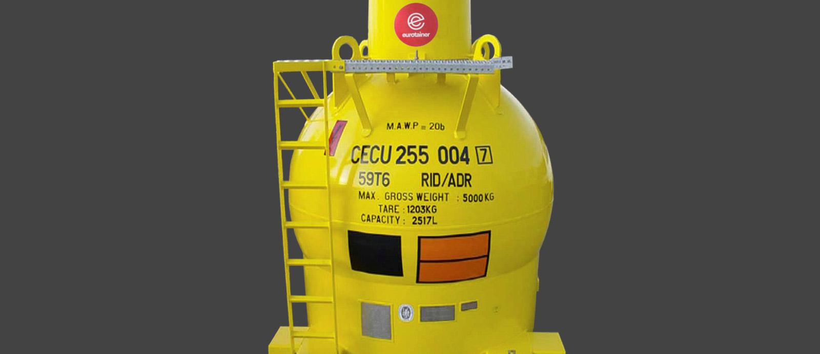 High Pressure Sphere   Eurotainer