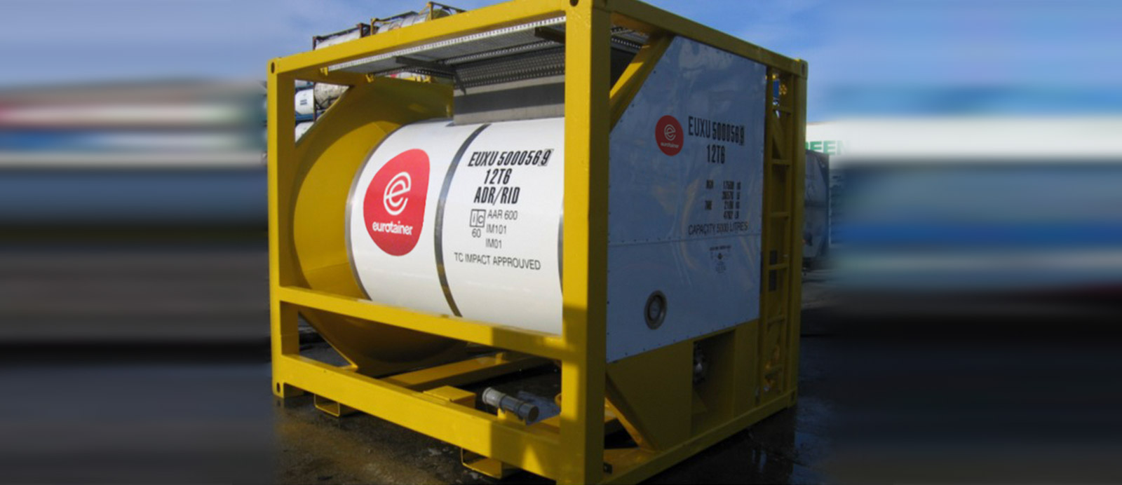 Ten Foot Tank Containers