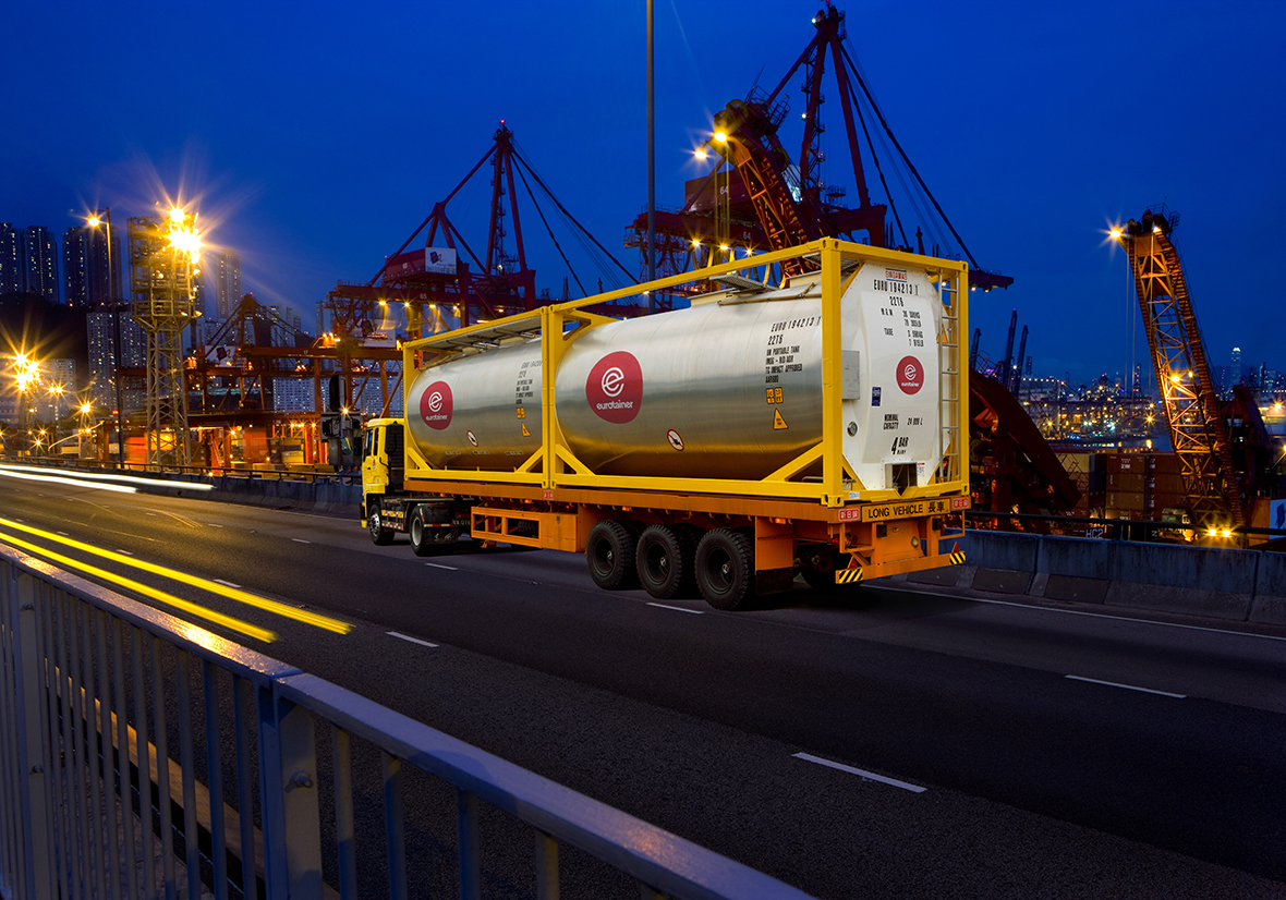 Eurotainer's fleet encompasses over 150 different types of tank containers available for lease