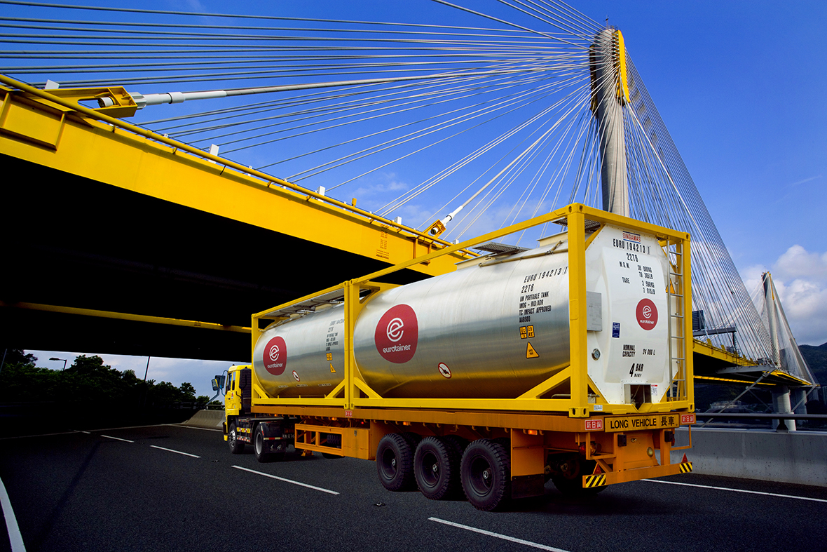 Eurotainer manage a worldwide fleet of 39000+ tank containers