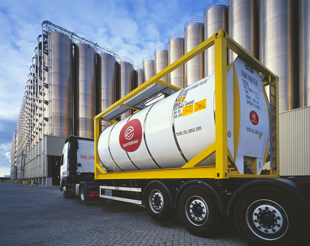 Learn more about our tank containers for chemicals