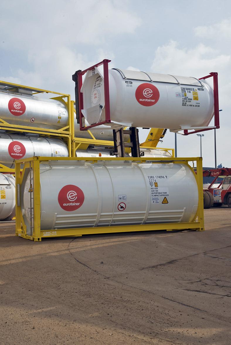 Eurotainer 自 20 世纪 70 年代以来就一直是一家业务遍布世界各地的跨国公司。