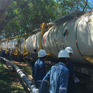 Intermodal Tank Containers in Bolivia