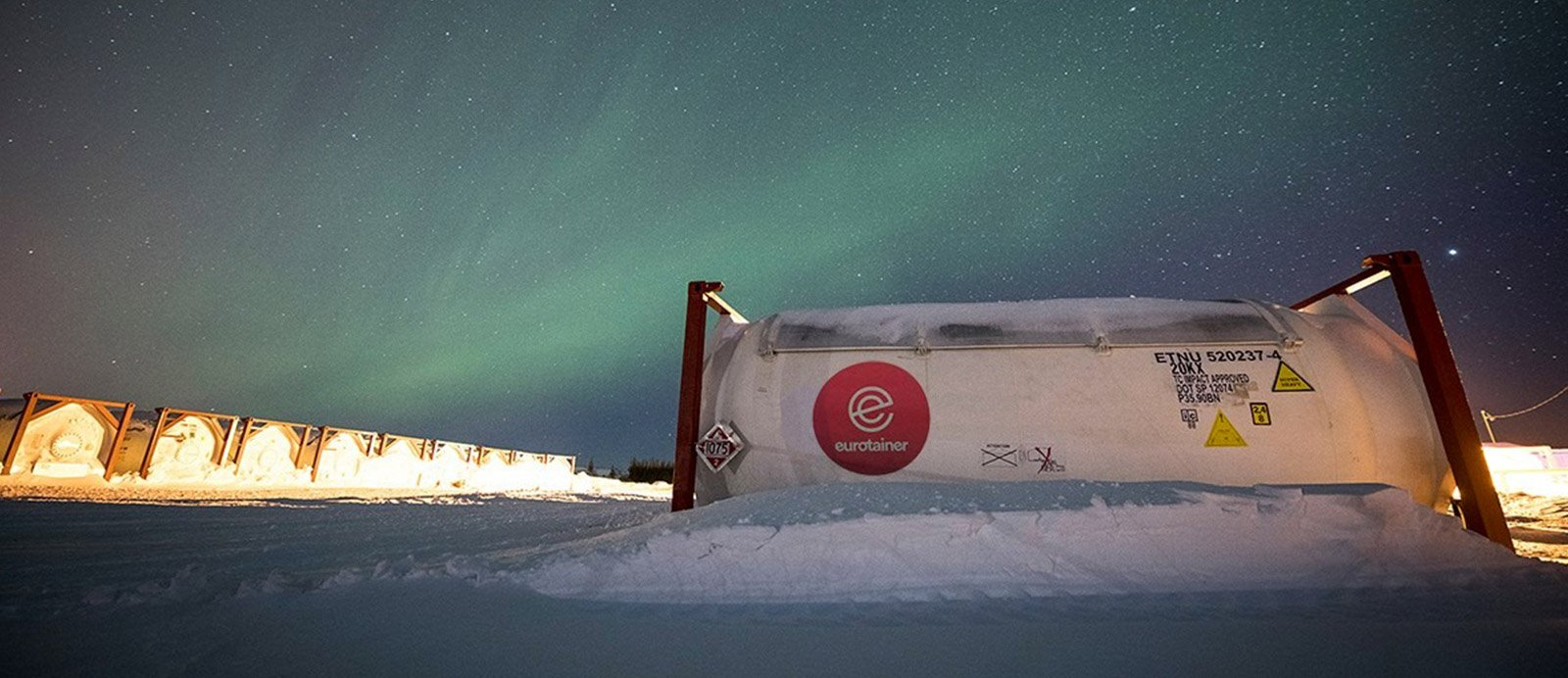 ...to The Arctic, Eurotainer is the First Choice in Tank Containers