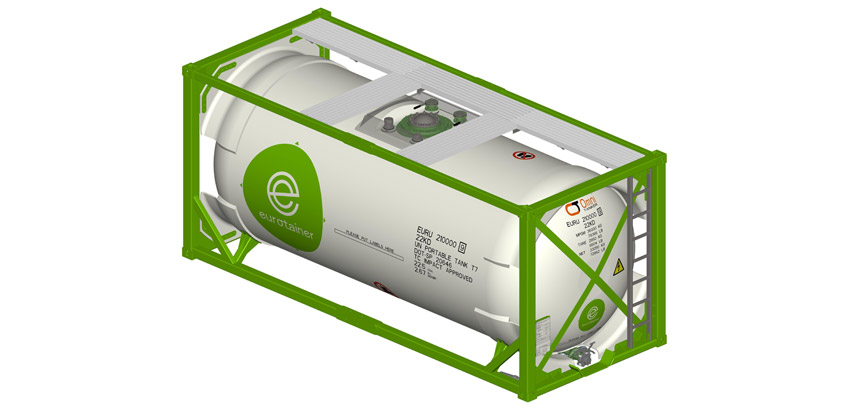 Eurotainer selects Omni Tanker for composite tank containers