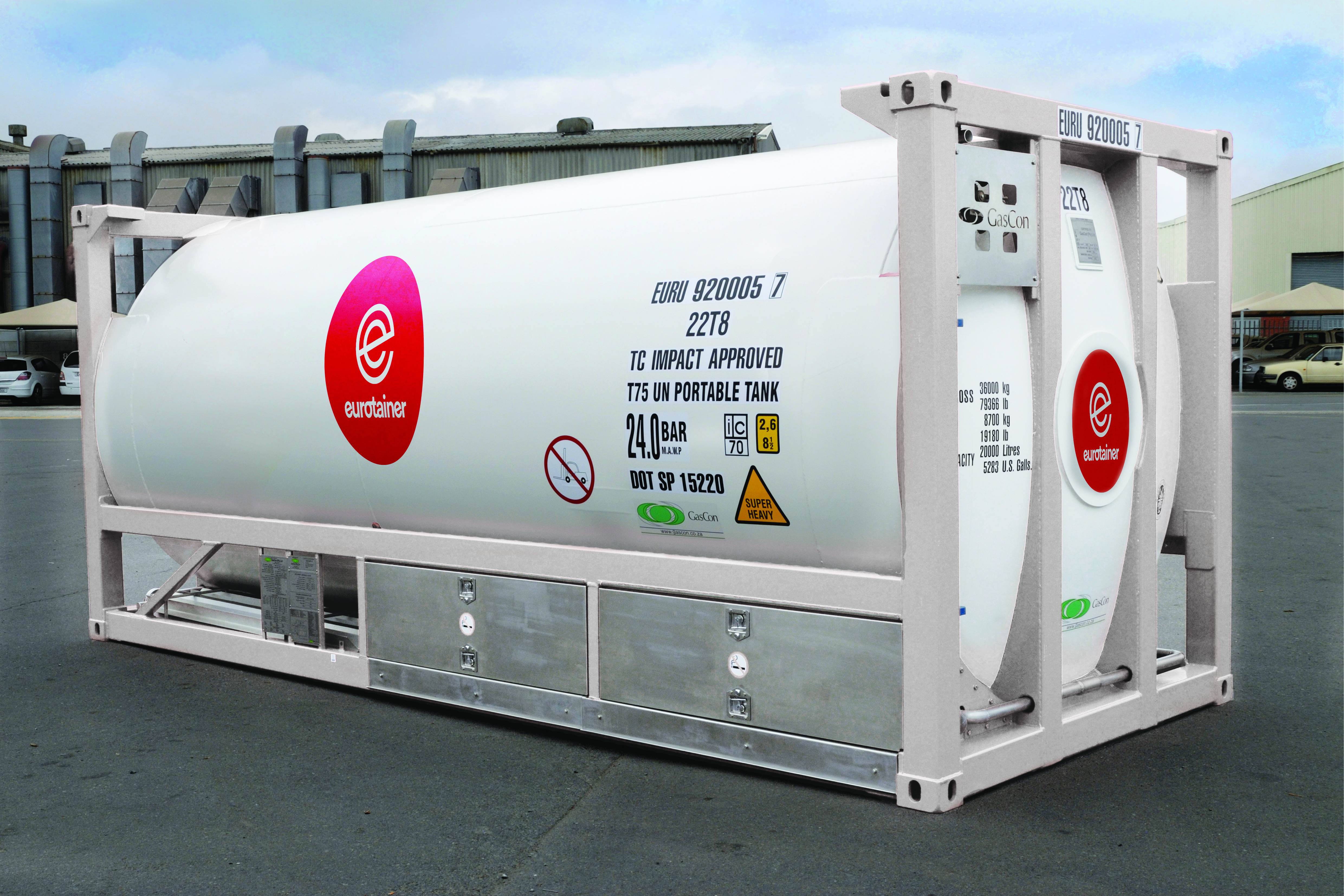 The most efficient tank containers available for cryogenic products