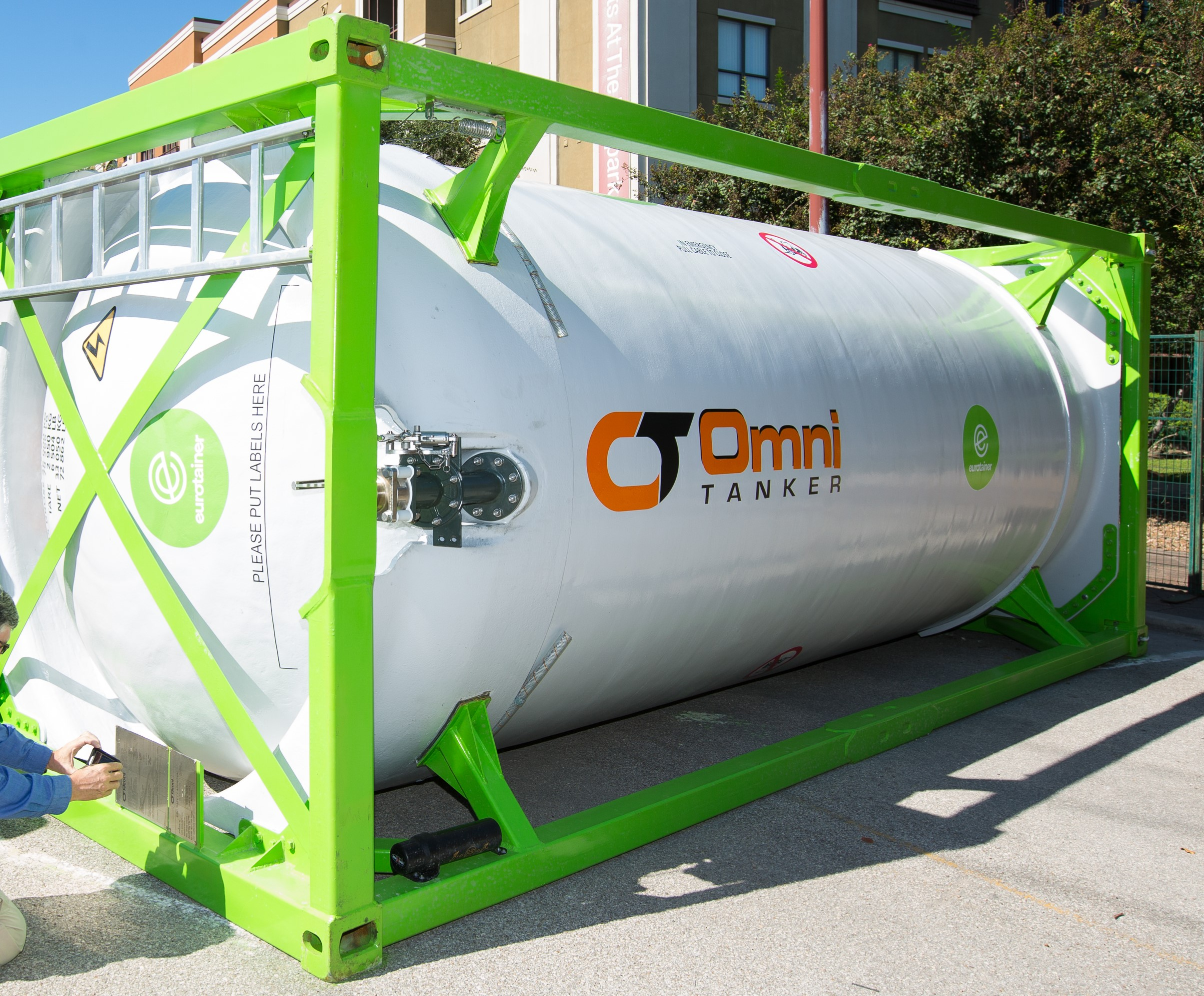 NEW VIDEO: Eurotainer Composite Tank Containers: The safest lightweight tank container for high consequence chemicals