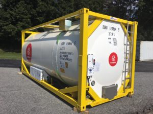 Heated, Refrigerated and Super Insulated Tank Containers for Temperature Sensitive Products