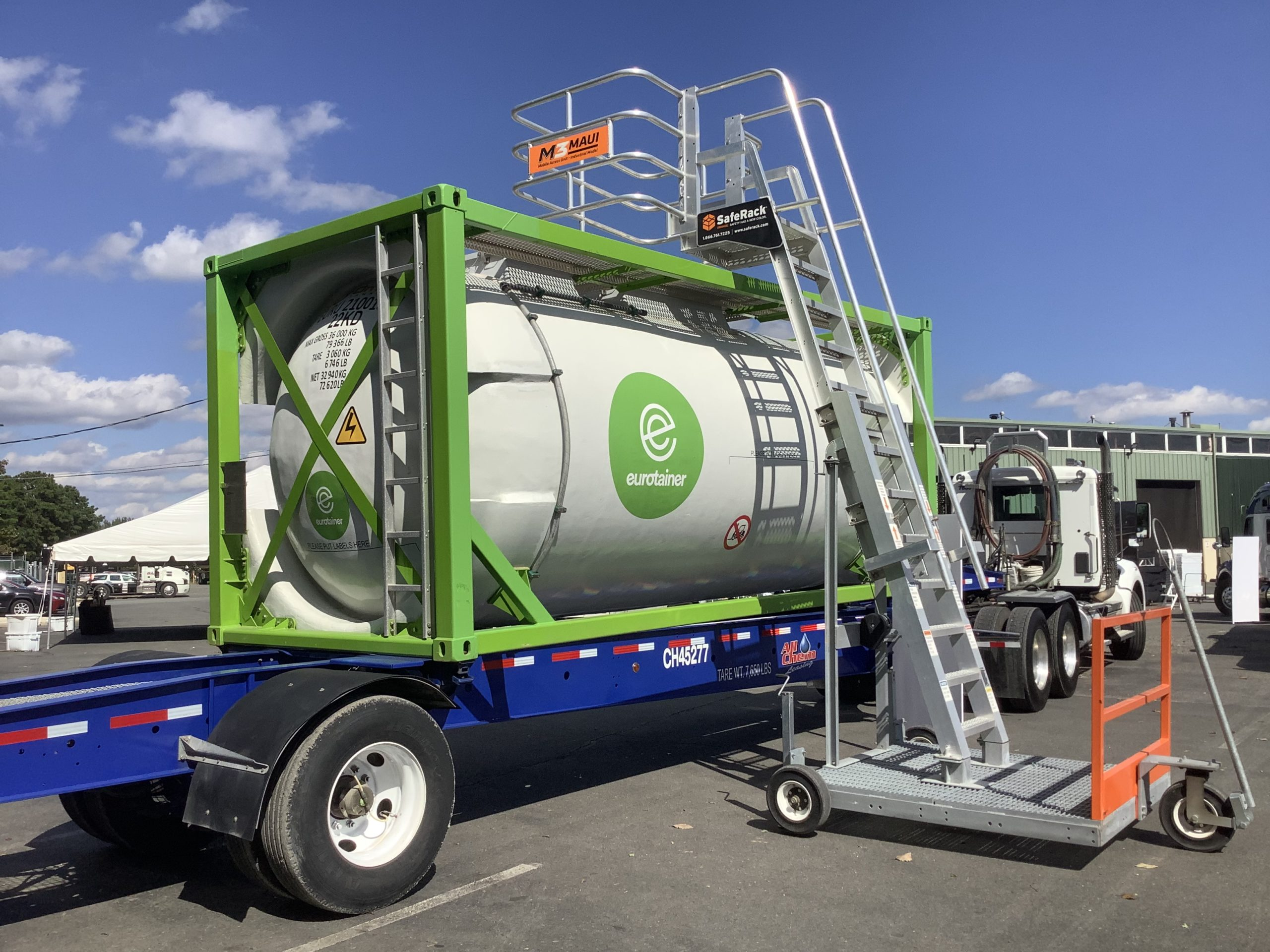 Eurotainer Participates in Launch of Carbon Fiber Tank Equipment for the US Market