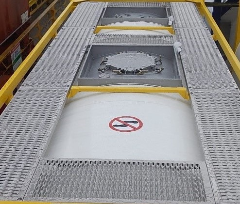 Eurotainer upgrades their standard tank container specifications to increase operational safety