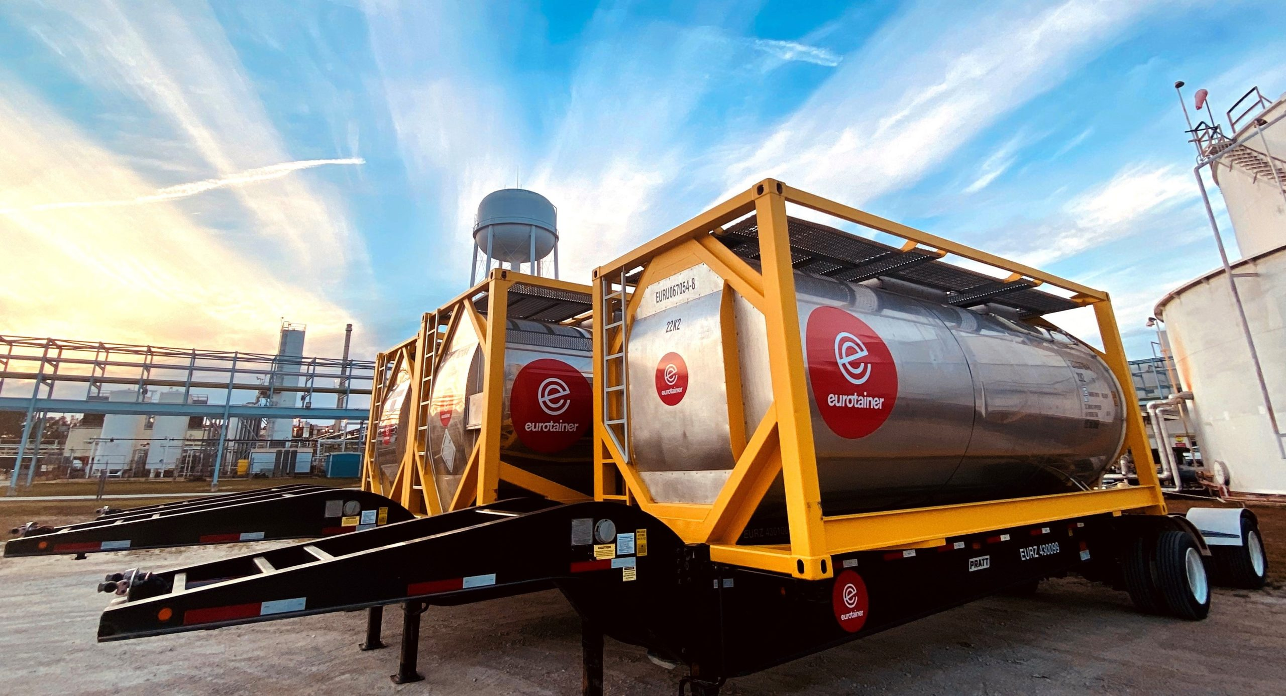 Learn about Eurotainer's Wide Range of Tank Containers for Liquid Products